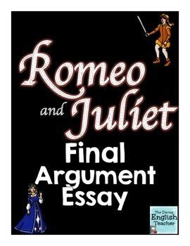 Romeo and juliet essay intro